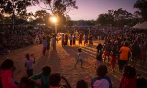 The Barunga festival, near Darwin, in Australia's Northern Territory